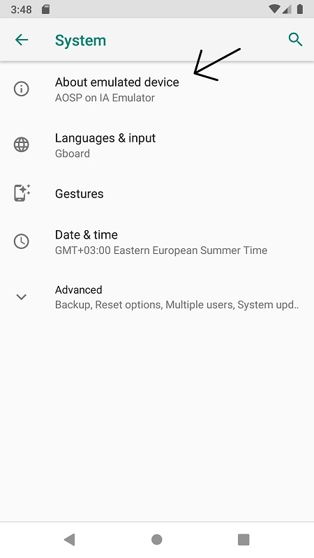 Kiểm tra phiên bản Android của bạn