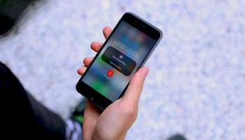 Lỗi quay màn hình iPhone bị mất tiếng