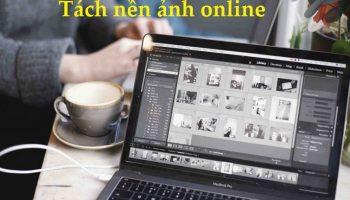 Tách nền ảnh online