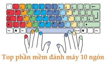 Top phần mềm đánh máy 10 ngón hay nhất hiện nay