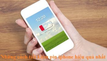 Những cách tiết kiệm pin iphone hiệu quả nhất mà bạn nên áp dụng