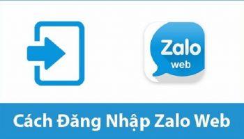 Hướng dẫn cách đăng nhập Zalo Web PC đơn giản nhất